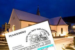 Pfarrbrief des Pastoralverbund Schmallenberg-Eslohe