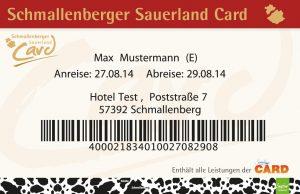 Schmallenberger Sauerlandcard