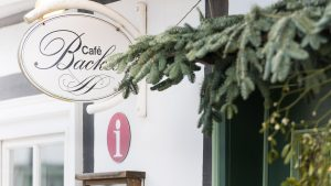 Tourist-Information im Café Backes
