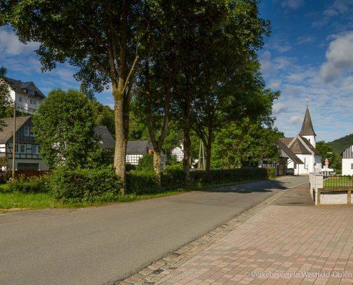 Ortsdurchfahrt Westfeld