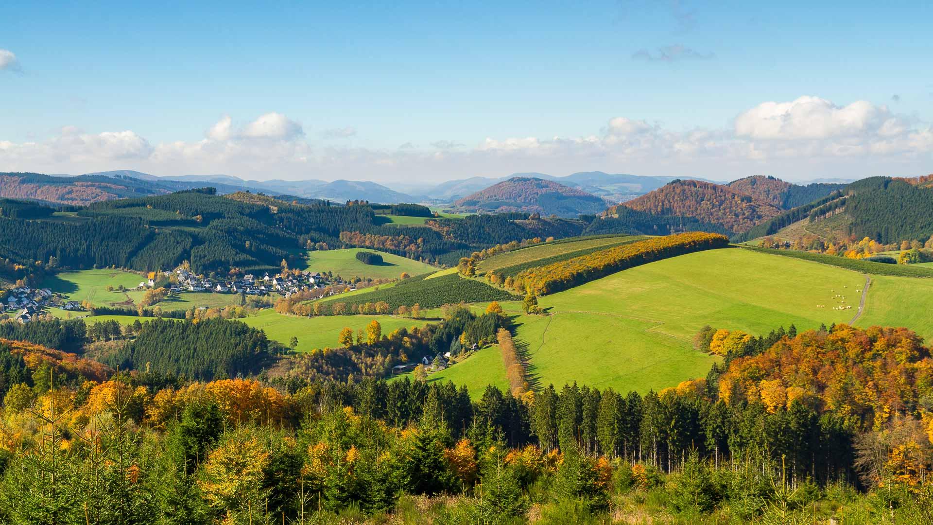 Westfeld-Ohlenbach im Lennetal