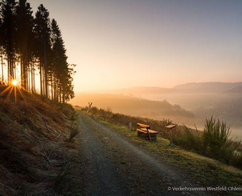 Sonnenaufgang am Wesenberg