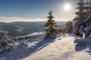 Schöne Aussicht auf dem Brandtenberg