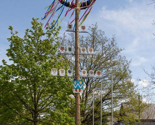 Maibaum auf dem Himmelreichsplatz