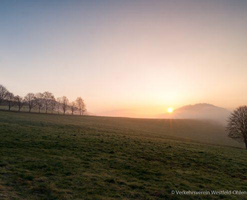 Sonnenaufgang in Ohlenbach