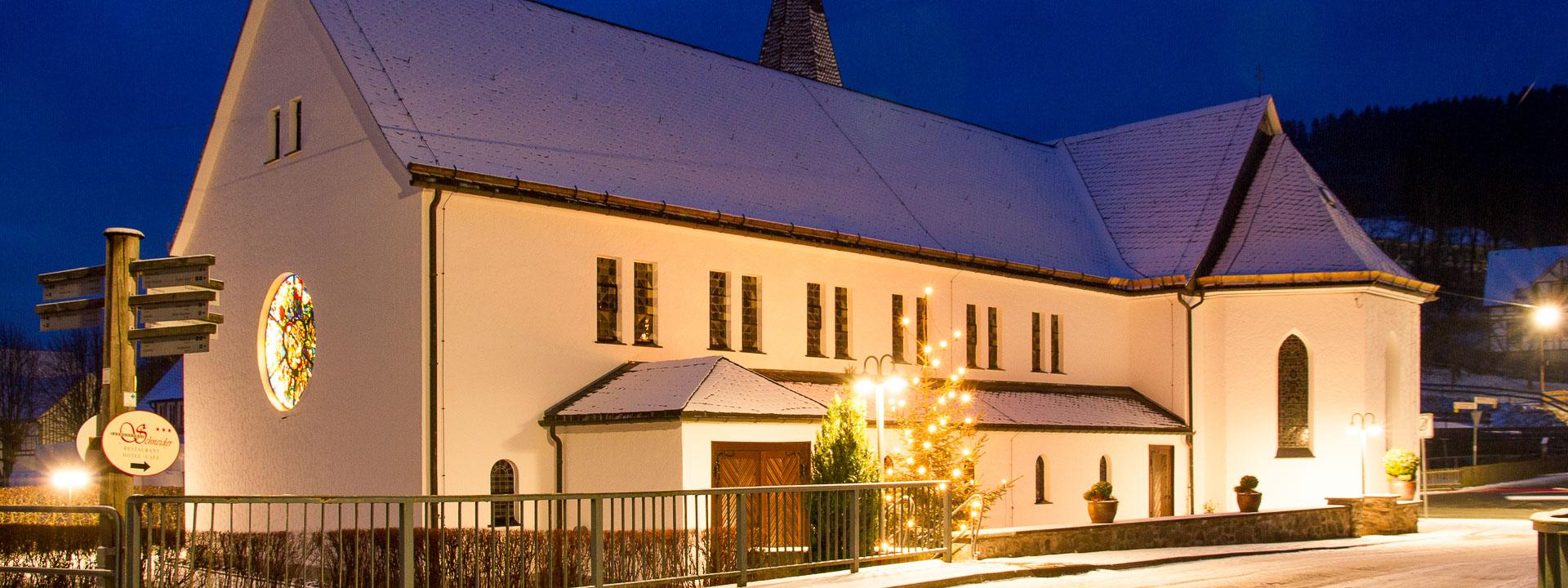 Kirche St. Blasius Westfeld