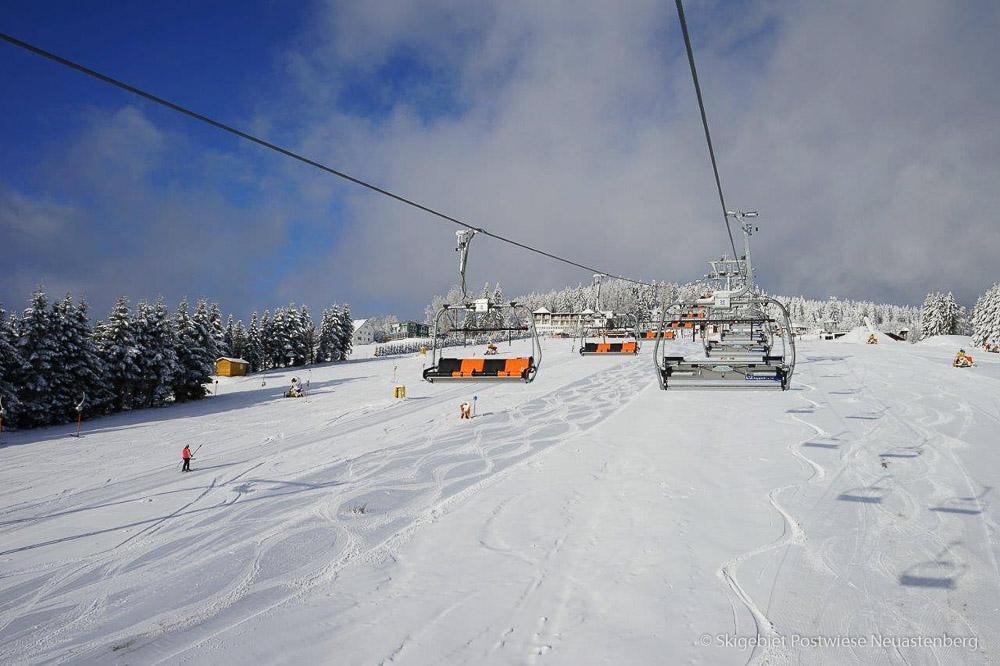 Skigebiet Postwiese in Neuastenberg