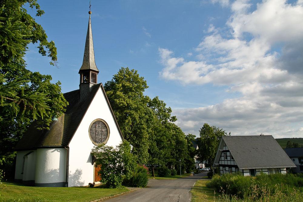 St. Elisabeth Kapelle auf dem Hohen Knochen