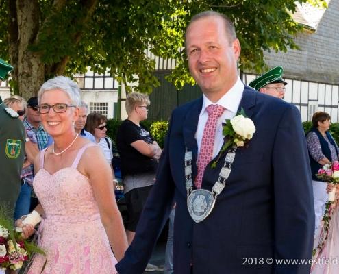 Schützenkönigspaar 2018 - Gernold und Eva Gnacke